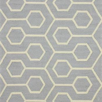Hacienda Outdoor Trellis Grey Rug, Rugs USA