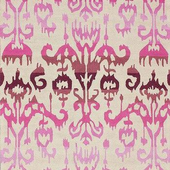 Radiante Lanterns Ikat Dragon Fruit Rug, Rugs USA
