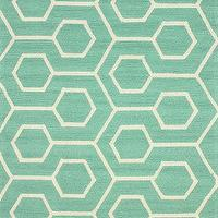 Rugs - Hacienda Outdoor Trellis Seafoam Rug | Rugs USA - seafoam green and white trellis rug, mint green and white trellis rug, turquoise and white trellis rug,