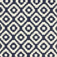 Rugs - Homespun Trellis Navy Rug | Rugs USA - navy and white trellis rug, navy and white geometric rug, contemporary navy and white rug, graphic navy and white rug,