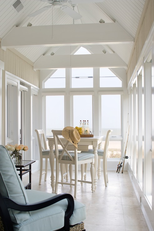 cottage sunroom cottage dining room erin glennon