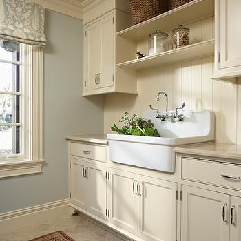 Laundry Room Shelves, Traditional, laundry room, Murphy & Co. Design