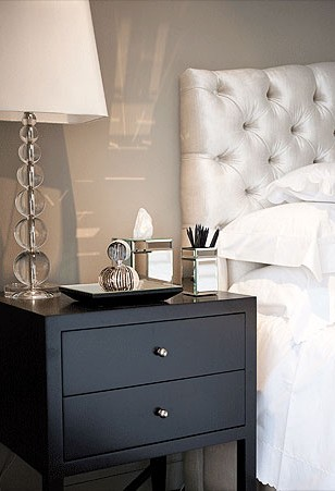 Gray And Black Bedroom Contemporary Bedroom Poco Designs