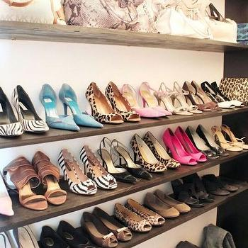 Made by Girl - closets - closet shelves, closet shelving, shelves for shoes, shoe shelves, shelves for handbags, shelves for boots,  Stunning