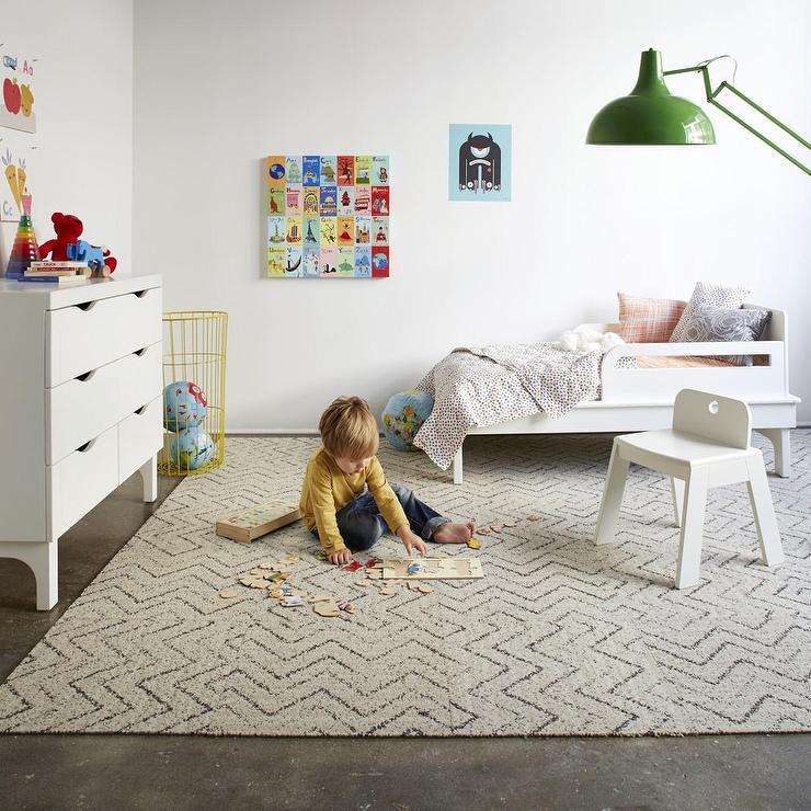 Carpet Tile At Flor: Jump Jive-Cream Carpet Tile I FLOR