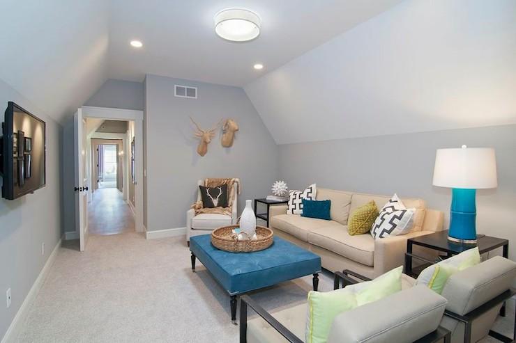 TV Room Ideas Contemporary living room Martha OHara