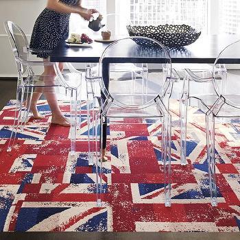 Rugs - Hey Jack-Red carpet tile I FLOR - union jack carpet tile, british flag carpet tile, modern union jack carpet tile,