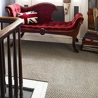 Rugs - Pumice carpet tile I FLOR - herringbone sisal look carpet tile, taupe herringbone carpet tile, herringbone patterned carpet tile, herringbone sisal patterned carpet tile,