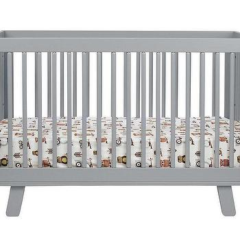 Beds/Headboards - babyletto Hudson Convertible Crib | AllModern - modern gray crib, contemporary gray crib, gray mid-century style crib,