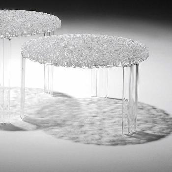 Tables - Kartell T-Table Table | AllModern - modern acrylic table, acrylic table, round acrylic table,
