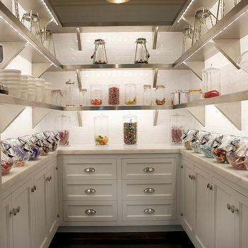 Kitchen Pantry Ideas, Transitional, kitchen, East End Country KItchens