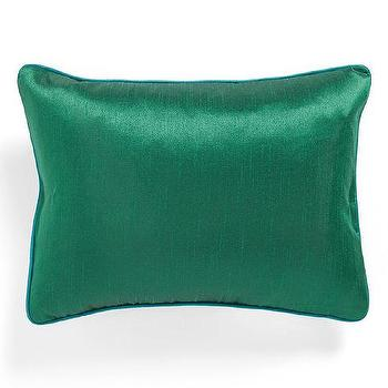 Pillows - Poetic Wanderlust 'Brianna' Faux Silk Pillow | Nordstrom - green faux silk pillow, emerald green pillow, emerald green faux silk pillow,