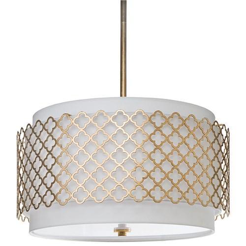 Regina Andrew Modern Luxe Gold Chandelier I Zinc Door
