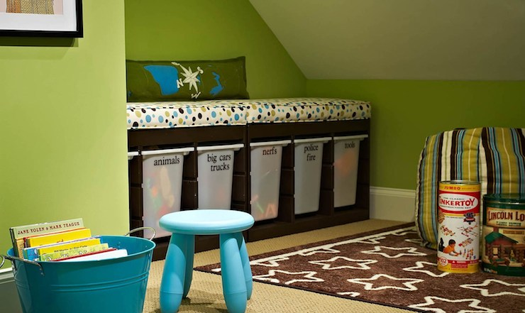 Toy Storage Ideas Contemporary Boy 39 S Room Traci