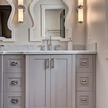 Grey Bathroom, Transitional, bathroom, Veranda Interiors