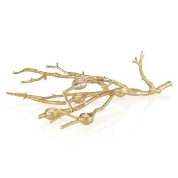 Decor/Accessories - Branch Votive Holder - Gold | Z Gallerie - gold branch candle holder, gold branch votive holder, gold branch shaped candle holder,