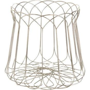Decor/Accessories - Alessi Spirogira Wire Citrus Basket I Barneys.com - wire basket, modern wire basket, silver wire basket, wire citrus basket,