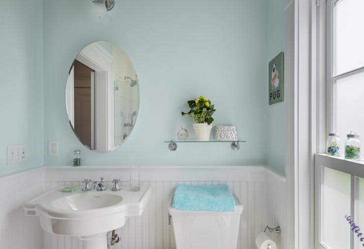 Shelf Over Toilet Cottage Bathroom Crisp Architects