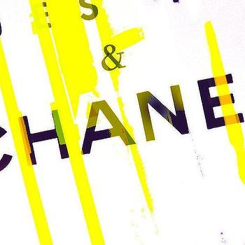 Art/Wall Decor - Chanel Yellow Photograph by Lisa Eryn I Fine Art America - navy white and yellow chanel art, navy white and yellow chanel themed art, chanel art, chanel themed art, modern chanel art,