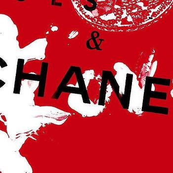 Art/Wall Decor - Red Chanel Photograph by Lisa Eryn I Fine Art America - black white and red chanel art, black white and red chanel wall decor, modern chanel wall art, chanel themed wall art,