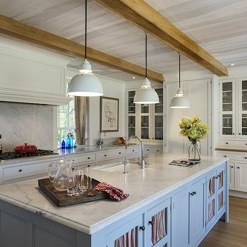 Exposed Wood Beams, Country, kitchen, Crisp Architects