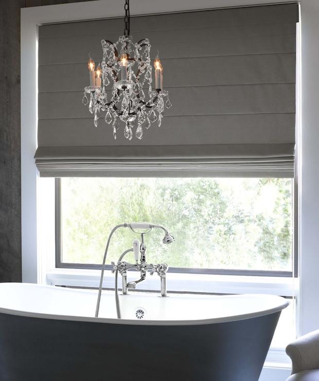 Lighting Over Bathtub Traditional Bathroom