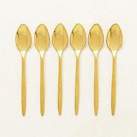 Decor/Accessories - Doma Flatware I anthropologie.com - gold flatware, gold spoons, contemporary gold flatware,