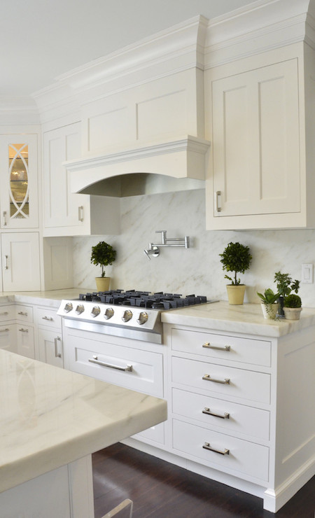Imperial Danby Marble Kitchen Dearborn Cabinetry