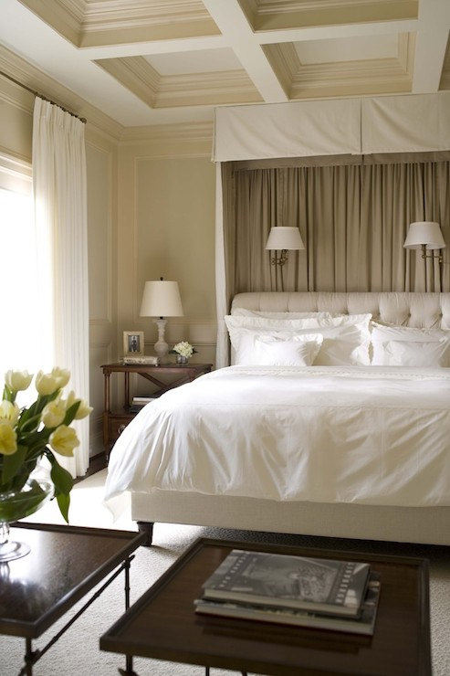 Bed valance traditional bedroom dream house studios for Dream house studios