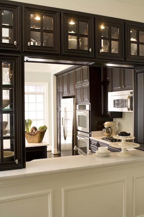Kitchen pass through transitional kitchen dream for Dream house studios