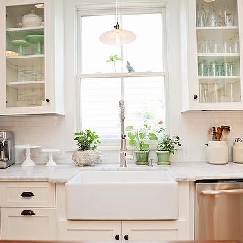 Pendant over Kitchen Sink, Vintage, kitchen, New Old