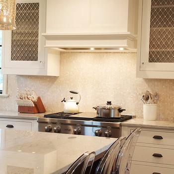 Onyx Mosaic Tiles, Contemporary, kitchen, Dearborn Cabinetry