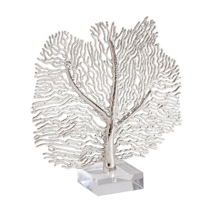 Silver Coral Sculpture I Ethan Allen