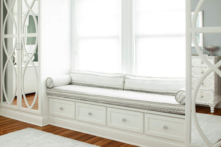 Mirrored Wardrobes - Transitional - bedroom