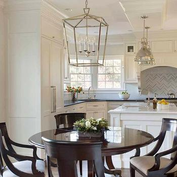 Darlana Medium Lantern, Transitional, kitchen, Liz Caan Interiors