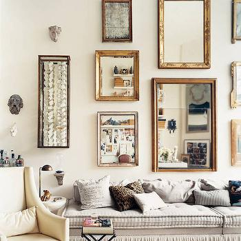 Fringe Sofa, Eclectic, living room, Stephen Shubel Design