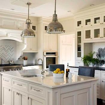 Built In Hutch, Transitional, kitchen, Liz Caan Interiors