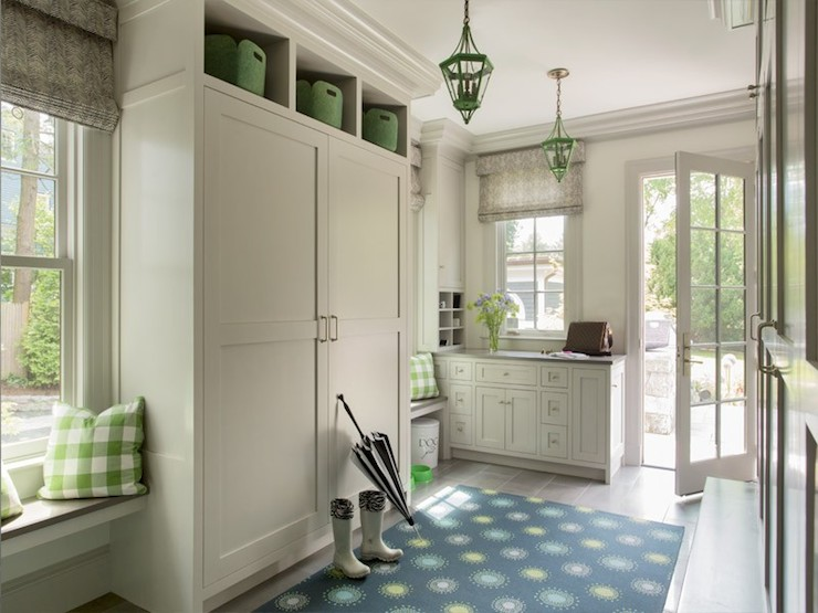 Floating Window Seat Cottage Laundry Room Liz Caan