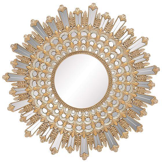 Salinas sunburst mirror i for Furniture 4 less salinas