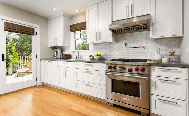 kitchens  white cabinets, white cabinetry, ceiling height cabinets