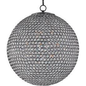 Lighting - Maxim Lighting Glimmer Twelve Light Chandelier I 1 Stop Lighting - round crystal bead chandelier, round beveled crystal chandelier, round crystal beaded chandelier,