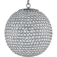 Lighting - Maxim Lighting Glimmer Five Light Chandelier I 1 Stop Lighting - round crystal bead chandelier, round beveled crystal chandelier, round crystal beaded chandelier,