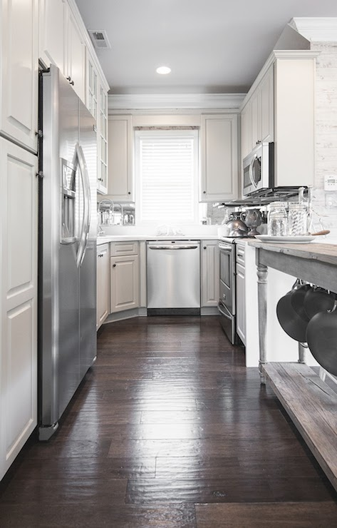 Long Kitchen Transitional Kitchen The New Victorian Ruralist