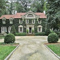 Veranda - home exteriors - ivy covered house, vine covered house, ivory house, vine house, ivy covered home, vine covered home,  Charming vine