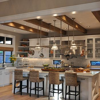 Seagrass Counter Stools, Transitional, kitchen, House of Fifty