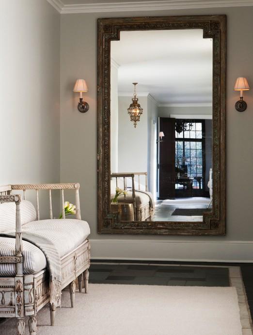 Foyer Wall Mirrors : Foyer wall mirror french entrance sage design