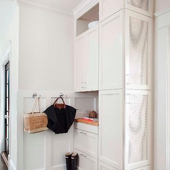 Mudroom Board and Batten, Transitional, laundry room, TerraCotta Properties