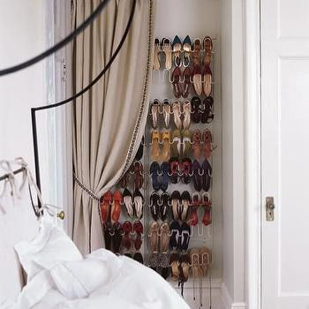bedrooms: shoe rack, wall shoe rack wall mounted shoe rack, shoe closet, nook as closet, nook turned to closet, hidden closet, concealed closet, hidden shore rack, hidden shoe closet, concealed shoe rack, concealed shoe closet,
