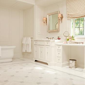 Large Master Bath, Traditional, bathroom, Elizabeth Dinkel Design
