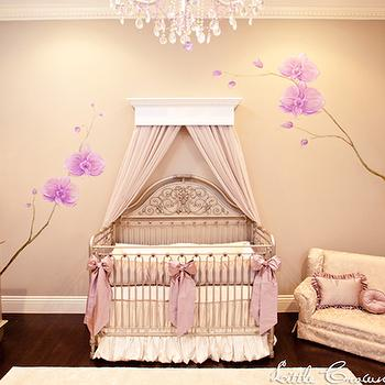 Crib Canopy, Eclectic, nursery, Little Crown Interiors